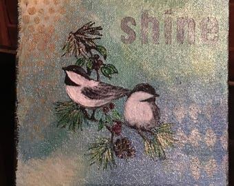 Shine Chickadees