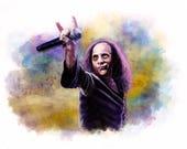 Ronnie James Dio Print...