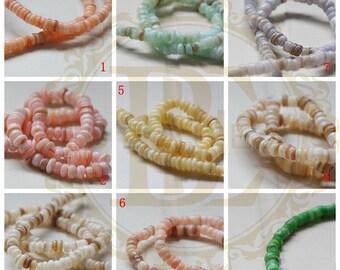 One Full 15 Inch Strand / Shell / Beads / Semiprecious Stone (G38)