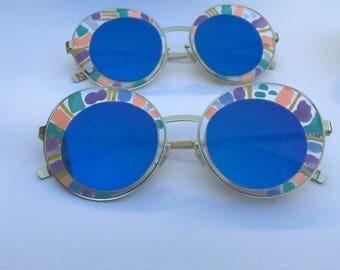 Summer- Hand painted sunglasses