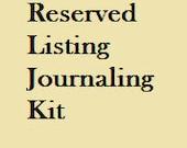 Customer Order - Vintage Sewing Junk Journal Kit