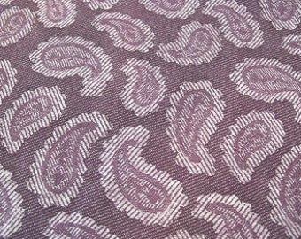 Purple Paisley fabric