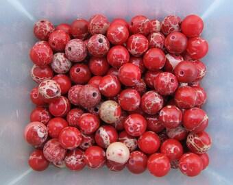 6mm Magnesite Gemstone Beads