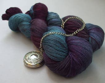 Luscious Sock Yarn. The Clock Struck Midnight