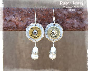 Remington Peters 38 Special Drop Earrings