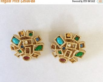 ON SALE Vintage Clip On Earrings by ART