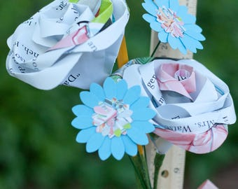 Children's Book Page Teacher Gift Bouquet
