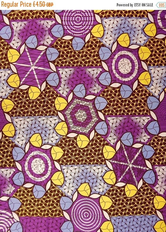 On sale african print fabric sold by the yard from for Cloth for sale by the yard