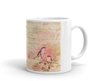 Romantic Bird Mug