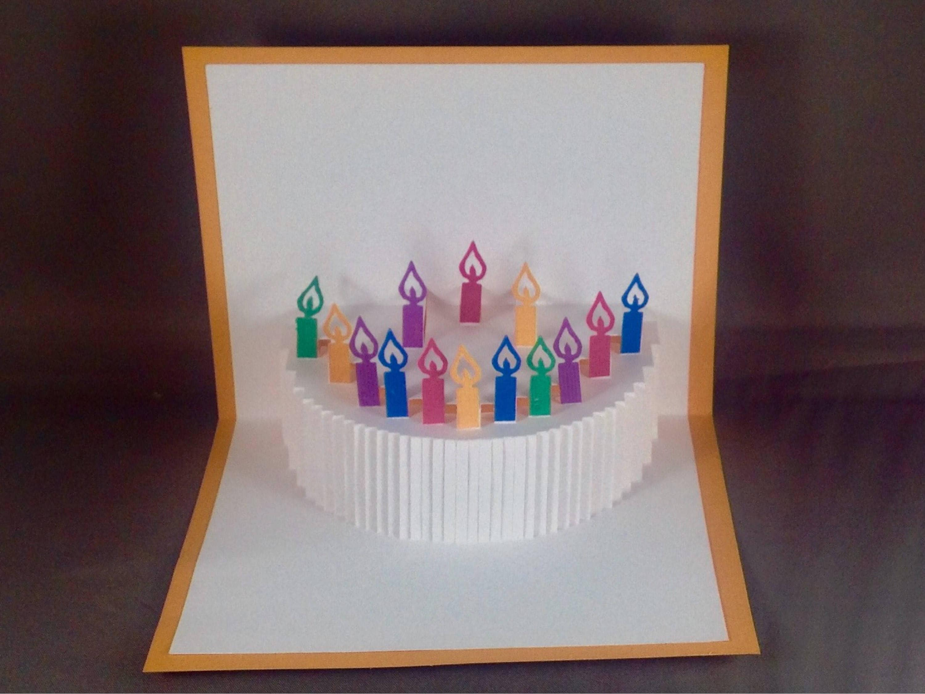 Birthday Pop Up Cards Designs by JD – Happy Birthday Pop Up Cards