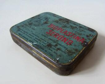 Vintage Italian Tin Box