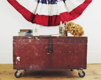 rustic coffee table,wood coffee table,tool box,tool chest,industrial coffee table,rustic storage box,farmhouse antiques,storage chest