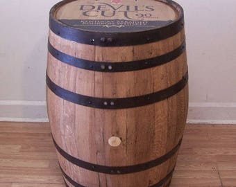 Jim Beam Devil's Cut Kentucky Straight Bourbon Whiskey Barrel-Sanded