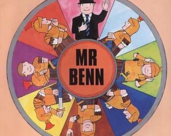 """Monthly Sock yarn club  """"mr Benn"""""""