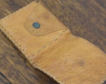 vintage soft leather wallet