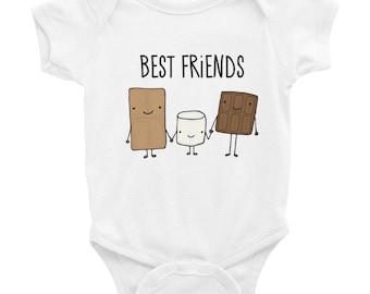 S'Mores Best Friends Infant Bodysuit