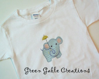 Sweet Mr. Olephant Children's T-shirt (can be personalized!)