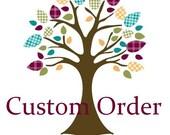 Custom order for Sable Blue