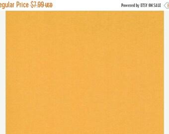 15% off thru Mar.19th By the yard--Moda   BELLA CHEDDAR yellow orange SOLID cotton quilt fabric- 9900-152
