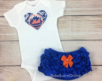 NY Mets Girls Outfit