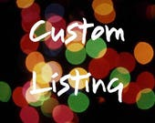 Custom Listing for Krystle