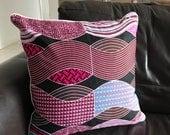 CUSTOM ORDER African Wax Print Cushion Cover