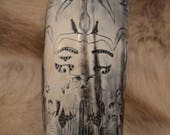 Hand Carved Mask of Odin ...