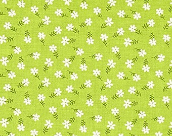 Daisies on Green from Riley Blake's Glamper-licious Collection by Samantha Walker