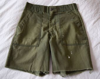 Vintage Army Shorts