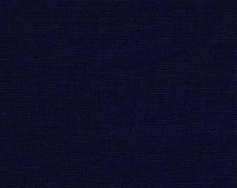 Ponti Di Roma Knit Fabric by the yard  (Navy)