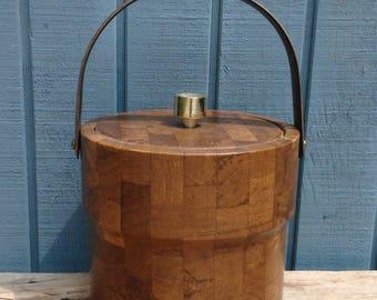Mid Century Ice Bucket - Mid Century Barware