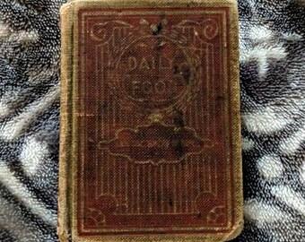 Old Vintage 1908 Devotional