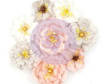 Prima Marketing Cherry Blossom Flower Embellishment In Style~ Thea New Release In Stock Ready To Ship