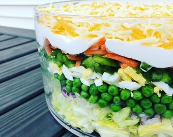 Gourmet recipes etsy gourmet layered salad recipe pdf jpg dinner party vegetarian recipe party recipe forumfinder Images