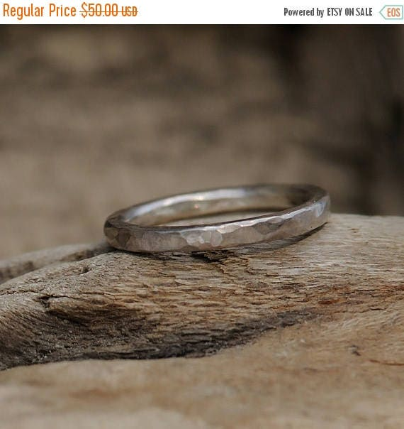 ON SALE Stacking Ring - Fine Silver Stacking Ring