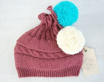 Baby girl-Baby Beanie Hat, Baby Girl Beanies, Baby Knit Beanies, Knit Toddler Hat, Baby Girl Knit Beanie, Newborn Beanie Hat