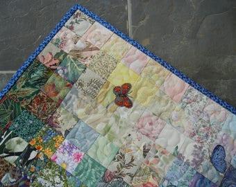 Mini Watercolor Butterflies Quilt