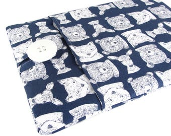 Laptop Sleeve Custom Fitted - Can Be Made For Any Laptop 15.6, 13 Inch, 13.3, 12 Inch, Animal