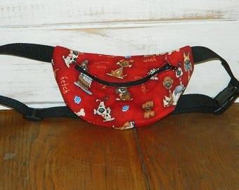 271e4c38b9bc9d ... Red Dog Fanny Pack - Hip Bag - Children thru Adult Sizes . ...