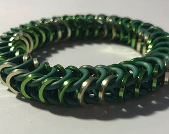 Los Angeles Valiant Inspired Stretch Box Chain Chainmaille Bracelet