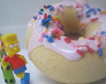 LIMITED TIME- SIMPSONBOMS - donut shaped bath bombs with Simpson Characters Inside