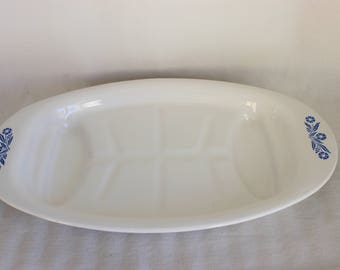 Corning Ware Cornflower Blue P-19 Platter