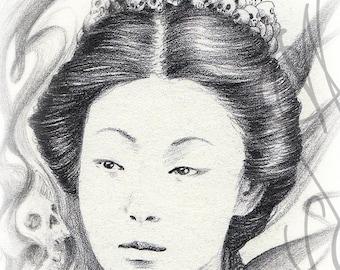 "Martinefa's original drawing - "" Samourai """