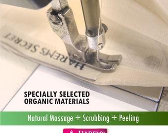 dry skin,Exfoliate Skin,exfoliating scrub,bloodCirculation,mitt,reduce aging,natural ingredient,Body Scrub,Unscented bio-exfoliation,beauty