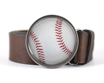 Baseball Ball Belt Buckle, Sport belt buckle