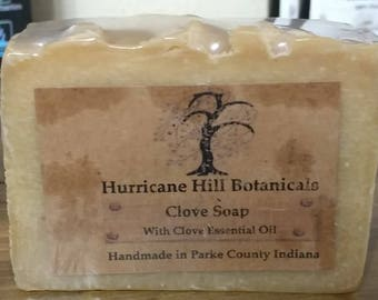 Clove Soap with Coconut Milk