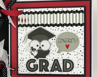 Graduation Mini Album Premade Scrapbook Album