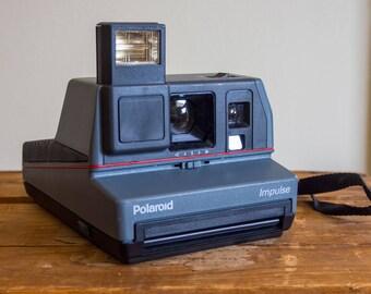 Polaroid Impulse, 1980's Polaroid, Impulse, Instant Film, Film Camera, Flash Photography, Polaroid Film, Vintage Camera, Vintage, Camera,
