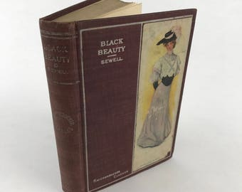 Antique Novel - Black Beauty: His Grooms and Companions - 1907 - Classic Fiction - Horses