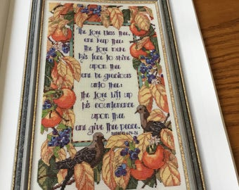 BLESSING - Cross Stitch Pattern Only